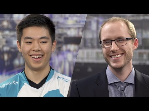 NA LCS Spring Finals: Azael Interview with Smoothie