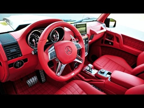 Mercedes G Wagon 2015 Red