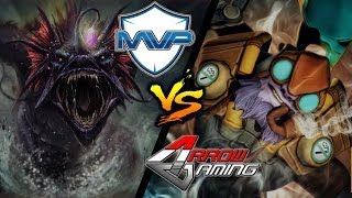 MVP vs Arrow - Game 2 [The International 4: SEA Qualifiers Winner