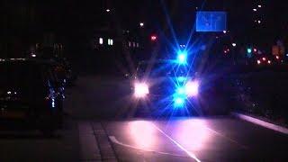 Nieuwe politie onopvallende Skoda en 20-143 met spoed naar ongeval in Tilburg