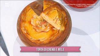 Torta di crema e mele - È sempre mezzogiorno 27/10/2021
