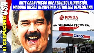 Contraataca Maduro apoyado por Rusia y China. Impide que americanos se queden con PDVSA