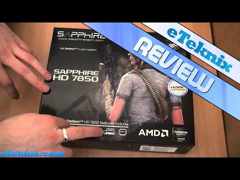 Sapphire Radeon HD 7850 OC Graphics Card Review