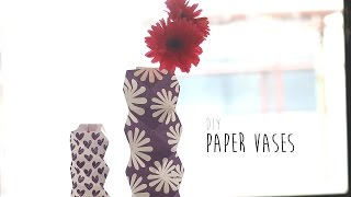 折り紙で作る花瓶☆フラワーベースの折り方6選