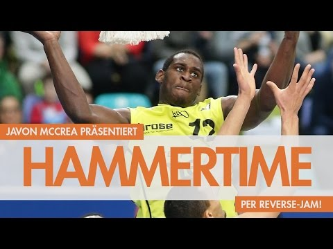 Hammertime: ALLSTAR Javon McCrea mit dem Reverse-Jam