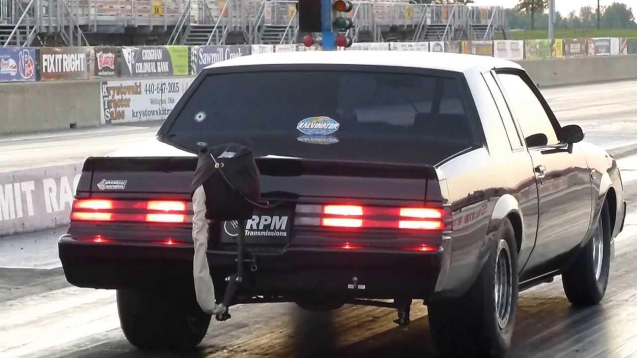 Turbo Buick Grand National Makes 8 74 Pass Drag Racing