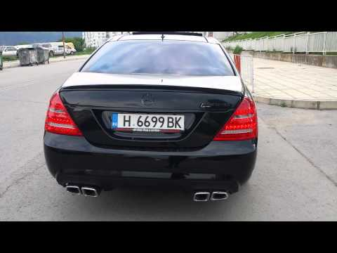 Mercedes S500 with S63 AMG Exhaust SOUND