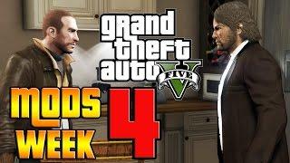GTA V PC MODS WEEK 4! (Niko Bellic, Fire Breath & More)
