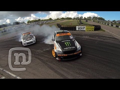 Tuerck d Wild In The UK: Smashing Missile Cars &  Driftland Nirvana