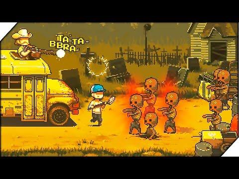 КРАСНЫЕ ГОЛОДНЫЕ ЗОМБИ - Игра Dead Ahead  Zombie Warfare # 2. Игра про зомби на андроид