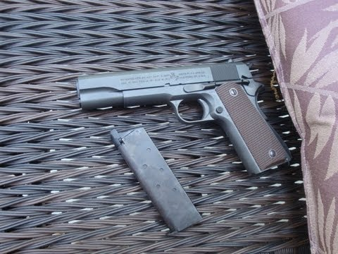 Tokyo Marui Colt m1911 (shooting)