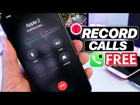 How to Record phone Calls on iPhone FREE & EASY