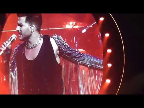 Queen + Adam Lambert, Perth 2014: 5. In the Lap of the Gods, 6. Seven Seas of Rhye, 7. Killer Queen