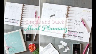 How to Meal Plan for Busy Moms ~ Meal Planning Basics