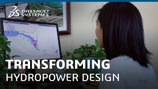 Dassault Systèmes helps Yellow River Consulting Transform Hydropower Design - Dassault Systèmes