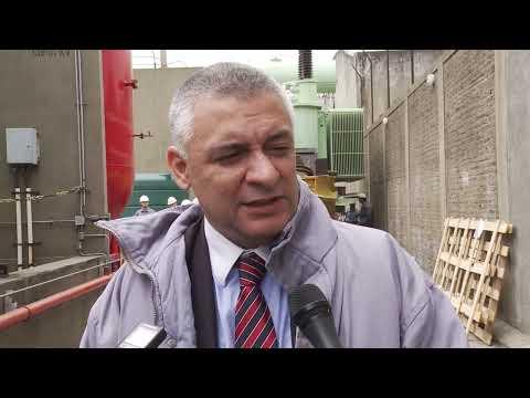 Funcionarios de Planificación recorrieron obras en la SE Pompeya de Edesur 3 10 2014