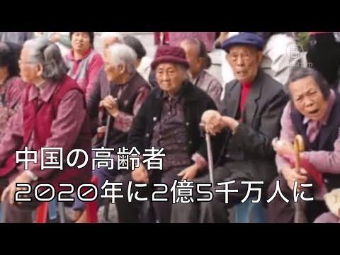 中国の高齢者、2020年に2億5千万人に【禁聞】