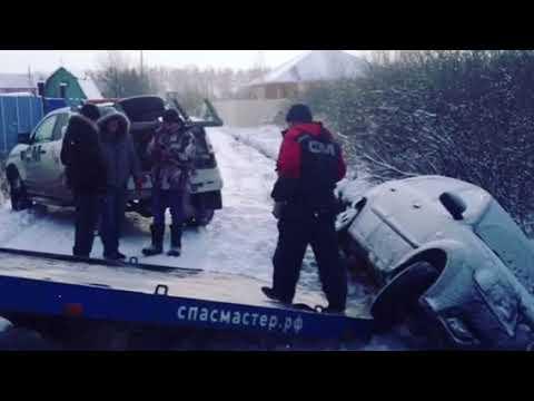 Эвакуация из траншеи в Верхнем Дуброво