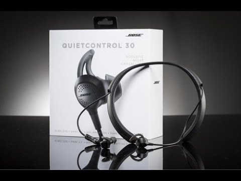 Bose Quietcontrol 30 with ANC Wireless Headphones unboxing and Review