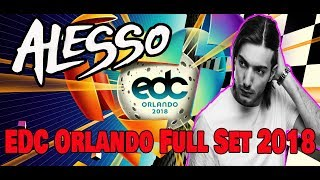 Alesso Full Set Edc Orlando 2018 Kinetic Field