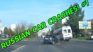 RUSSIAN CAR CRASH COMPILATION #1 - [2014]
