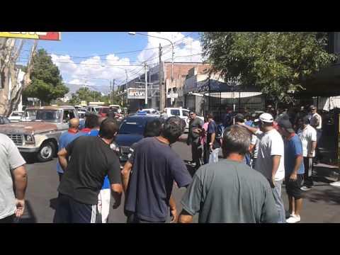 Manifestación Petroleros en Mendoza