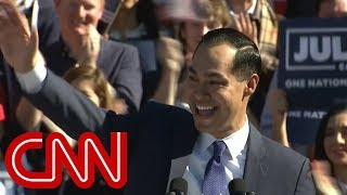 Julián Castro officially announces 2020 presidential bid