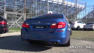 Обзор BMW   M5 F10 Exhaust Sound   Start Up andamp; Revving
