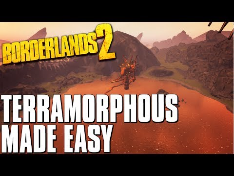 Borderlands 2 Terramorphous vs Lead Storm Gunzerker Build