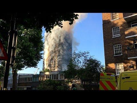 Al menos seis personas murieron en el incendio de un edificio de Londres
