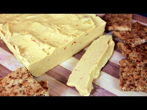 Vegan Cheese and Gluten Free Crackers : The Nutritarian Cooking Show