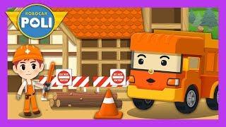 Orange   Color play for Kids   Robocar Poli Game