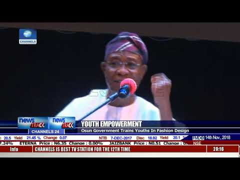 Osun Govt Trains Youths In Fashion Design