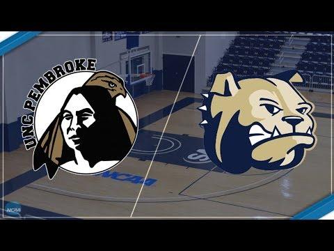 2017-18 Wingate Women's Basketball Vs. UNC Pembroke Braves