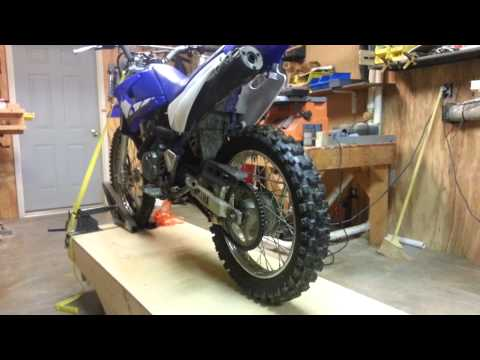 Home built motorcycle lift table