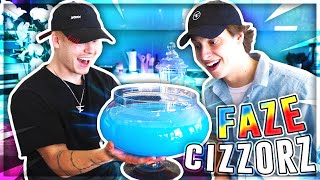 FORTNITE SHIELD POTION IRL! FaZe Cizzorz at the Faze Gaming House!