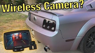 Testing Out A Wireless Reverse Camera (Auto-Vox)