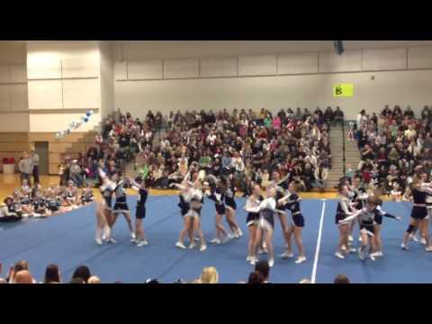 Macs Cheer 11-10-12 video