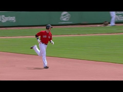 LAA@BOS: Carp gets Red Sox on board with solo homer