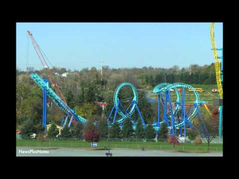 TOP 10 RIDES AT DORNEY PARK
