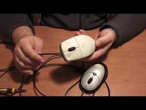 Как заменить колесико в мышке