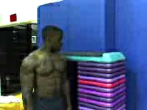 Juggernaut Training Systems-Dwain Chambers 62 inch Box Jump!!