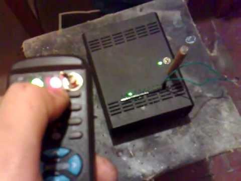 Пиротехнический радио-пульт