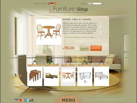 0 Furniture Store osCommerce template