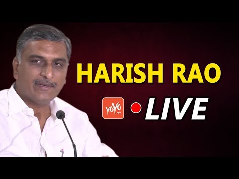 Harish Rao LIVE | TRS Praja Ashirvada Sabha | TRS Public Meeting | YOYO TV Channel