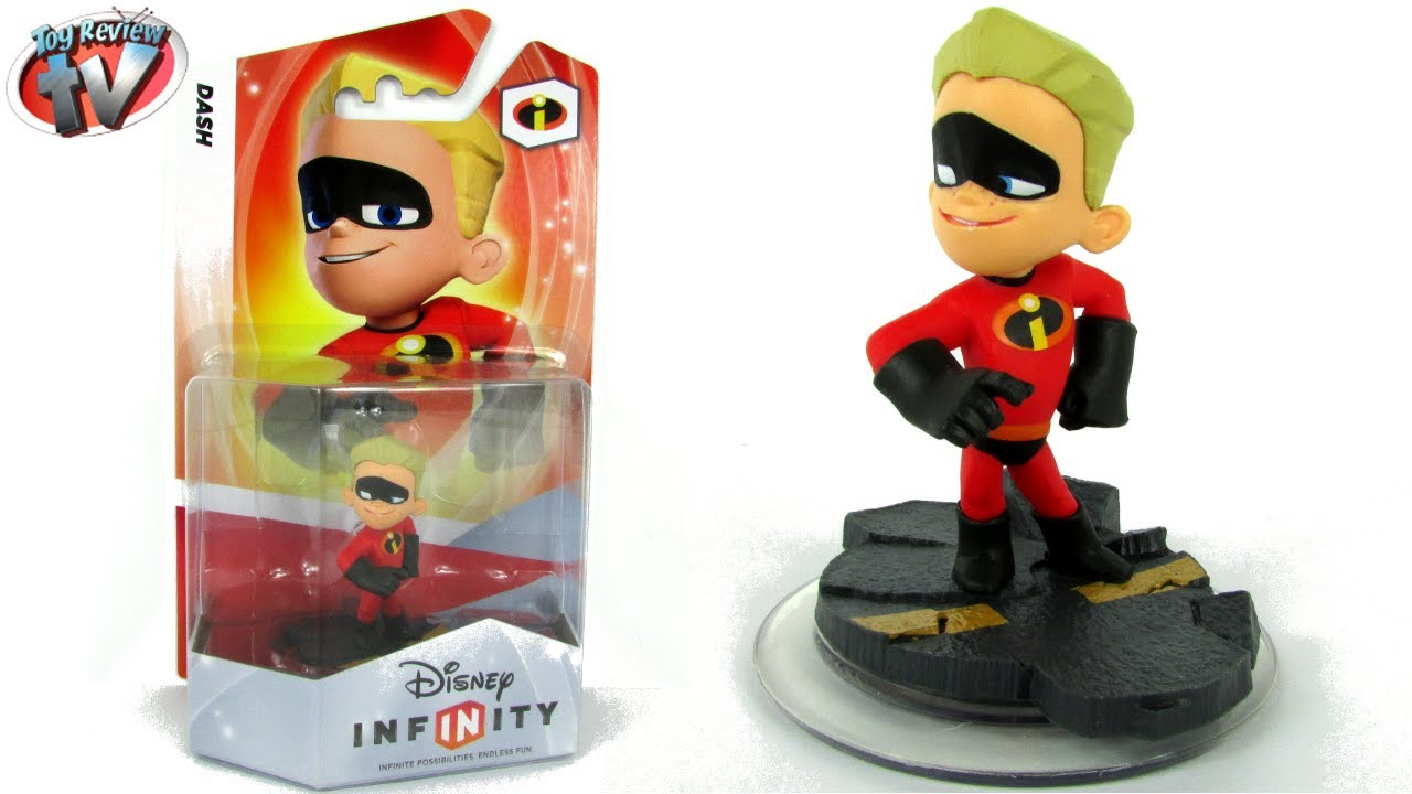 Disney Infinity Incredibles Dash Figure Toy Review - YouTube