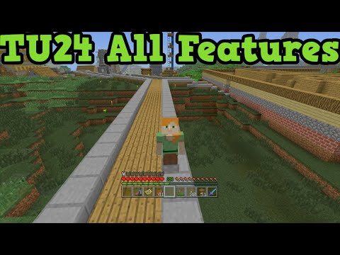 Minecraft Xbox 360 / PS3 - TU24 Out Now All Features