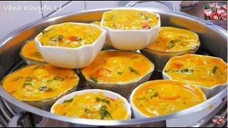CHẢ TRỨNG HẤP - Cách làm Chả trứng chưng / hấp thịt thơm ngon để ăn Cơm Tấm by Vanh Khuyen