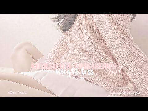 【 rapid fast weight loss ୨♡୧ subliminal 】