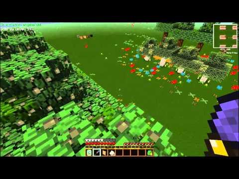 Minecraft Forestry Tree Breeding Guide in FTB Ep 1